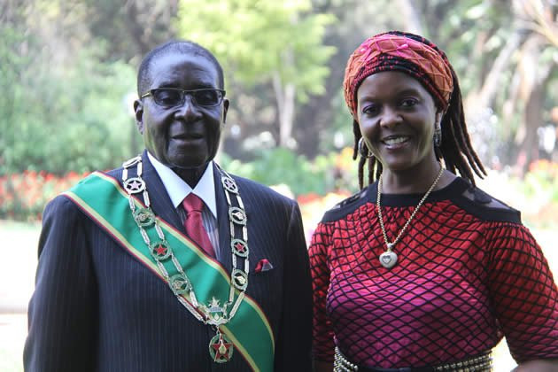 Traditional Court Fines Robert Mugabe's Widow Grace Five Cows and Two Goats
