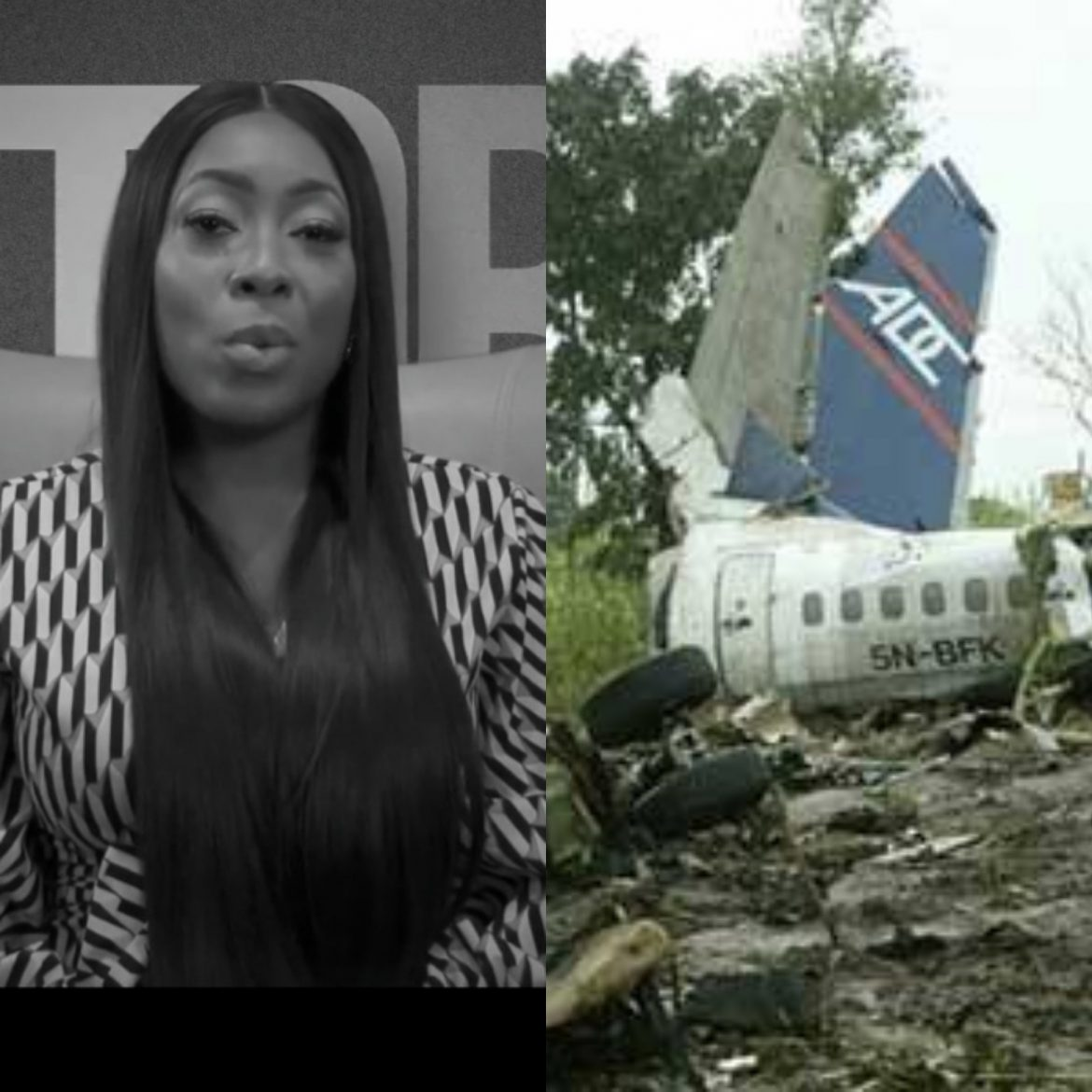 Esther Longe, One of the Survivors of the 2006 ADC Plane Crash shares During the Crash