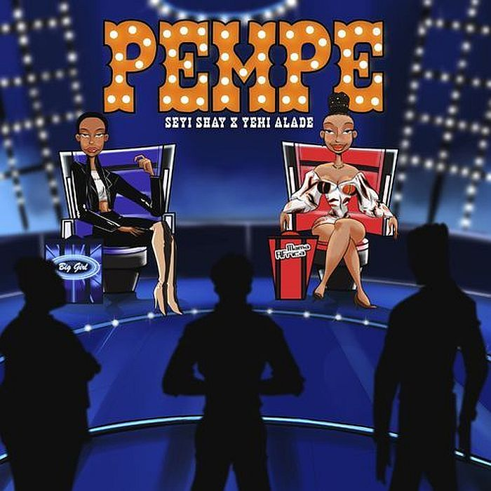"""Seyi Shay teams up with Mama Africa, Yemi Alade on this lovely tune titled """"Pempe"""". The song was produced by Kel P."""
