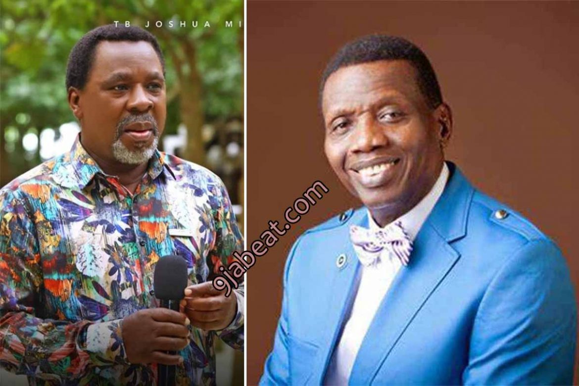 """Pastor Adeboye Finally Sends Condolence Message to Family of Late TB Joshua, Says """"We Shall Meet Again"""""""