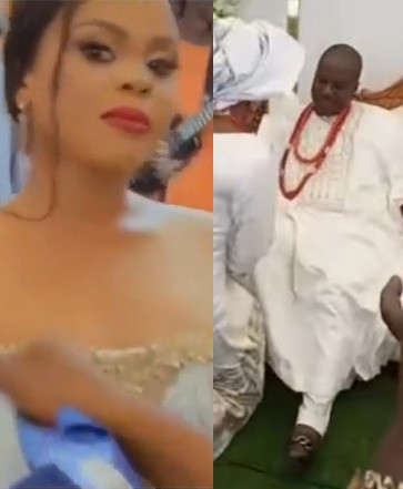 ''I'm happy again. Thank you Lord'' Mercy Aigbe's ex-husband, Lanre Gentry, writes as he shares video of his new wife, Busayo